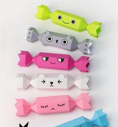Cute and funny christmas crackers / Vicces meghúzáskor robbanó ajándék tartó  csomagolás (nyomtatható mintaívekkel) / Mindy -  creative craft ideas