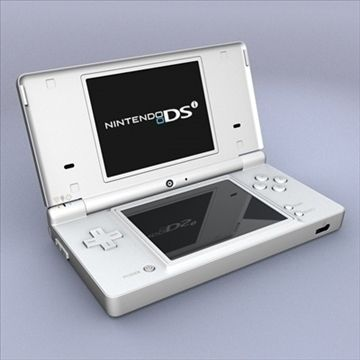 Nintendo DSi 3D Model- Nintendo DSi  This is a highly detailed model of the Nintendo DSi. The model includes textures for seven different DSi colors (White, Black, Blue, Lime Green, Pink, Metallic Blue, and Red). The model is complete and has the stylus pen, inputoutput ports, SD card slot,  game card slot, buttons, and volume toggle. This model uses high resolution texture maps. It includes a model of a Nintendo DSi game card with textures and in-game screenshots of New Super Mario Bros and…