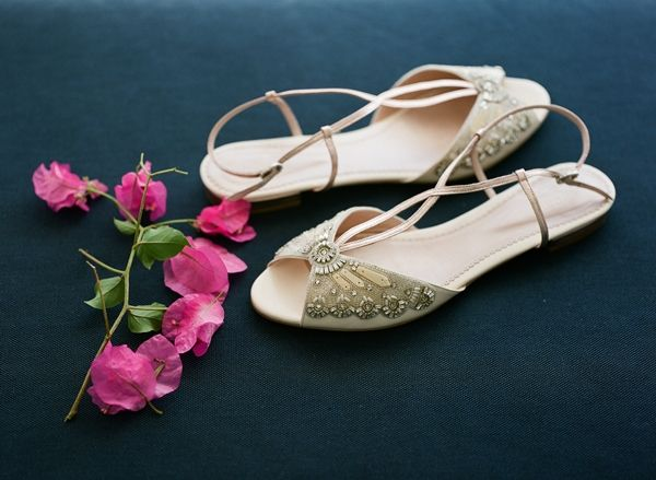 Elegant flats for the elegant bride | Greek Island weddings