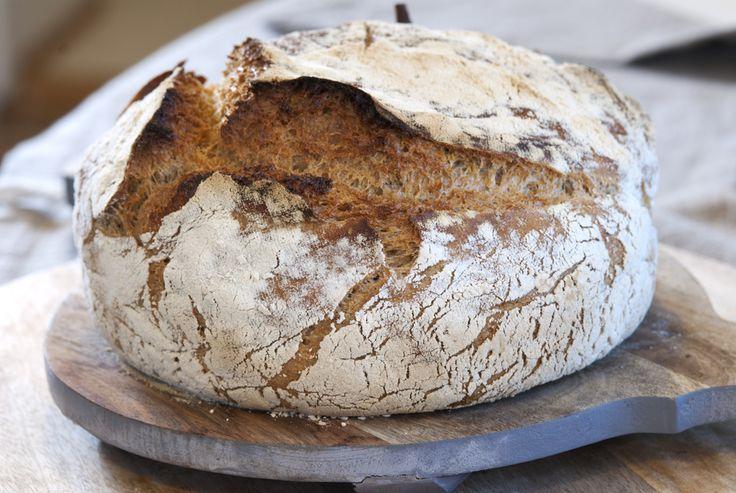 eltefritt brød med rugmel