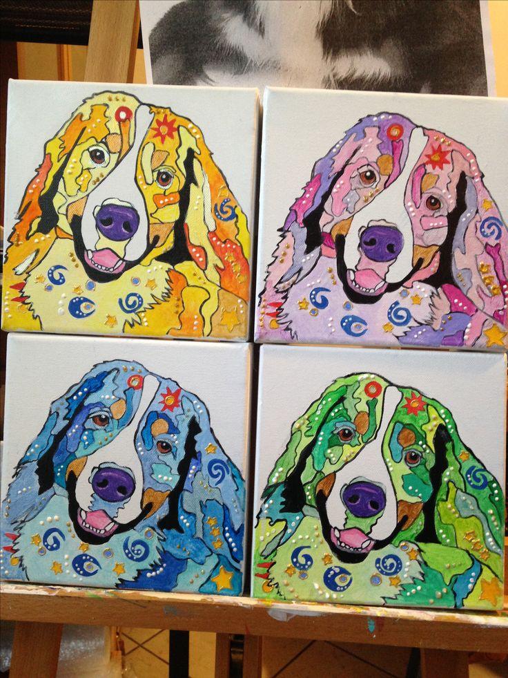 #cani #goldenretrivier #popart #quadri