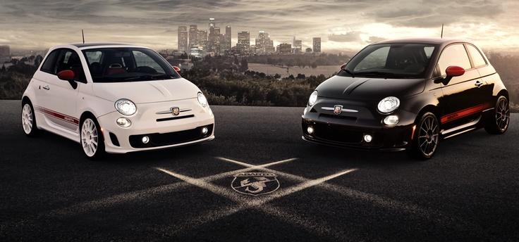 Fiat 500 Abarth. White or Black?