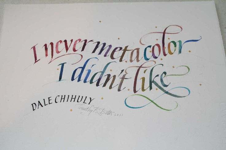 Dale Chihuly quote by Tim Botts