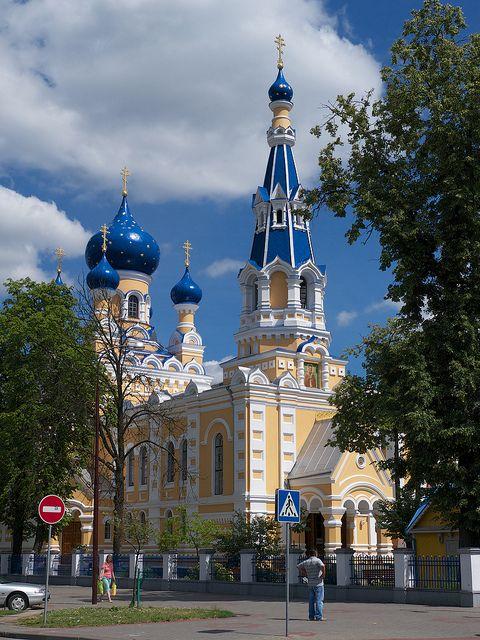 St. Nicholas Church, in Brest, Belarus (by woollybah). - http://visitheworld.tumblr.com/post/34102549517/st-nicholas-church-in-brest-belarus-by