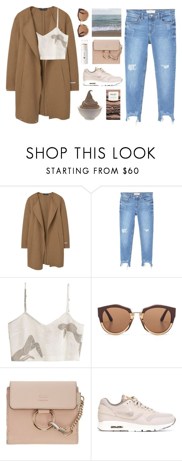 """Untitled #3075"" by tacoxcat on Polyvore featuring MANGO, Paloma Wool, Marni, Chloé and NIKE"