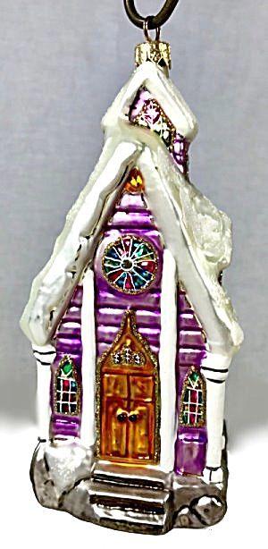 Christopher Radko Midnight Blessings Ornament