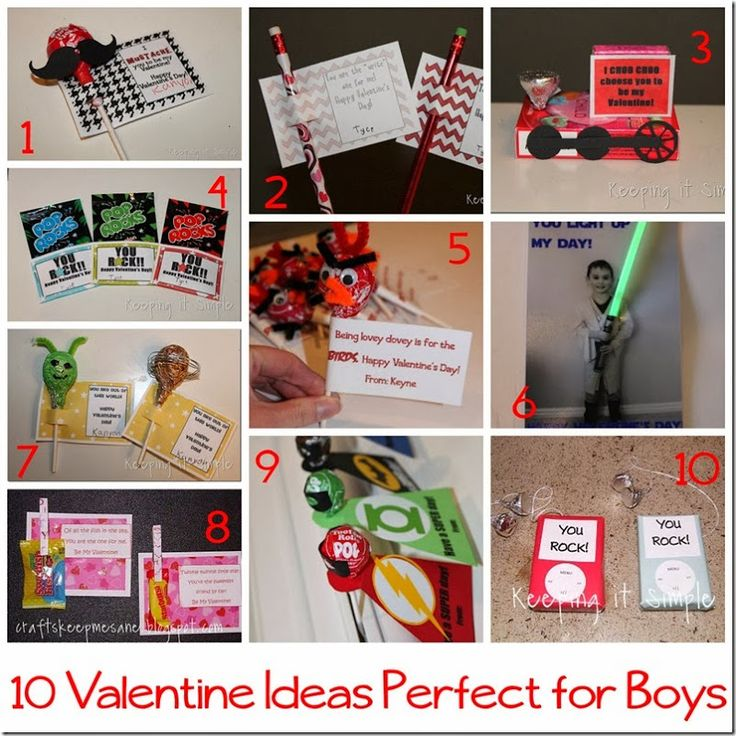 25 Easy Diy Valentines Day Gift And Card Ideas: 10 Handmade Valentine Ideas For Boys