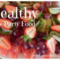 Healthy Kid's Party Food. I always Include healthy items on the menu