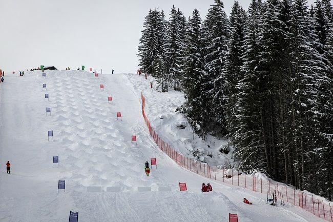 Coupe d'Europe de ski de bosses!