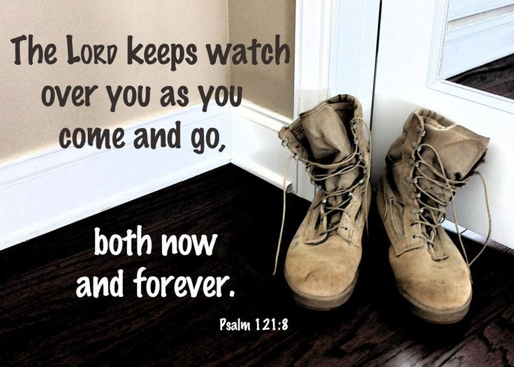 "From ""The Traveler's Psalm"" ~ In the military life, and in all of life, there is much coming and going. How reassuring to know God keeps watch over His children no matter where they are. ~Kristi"