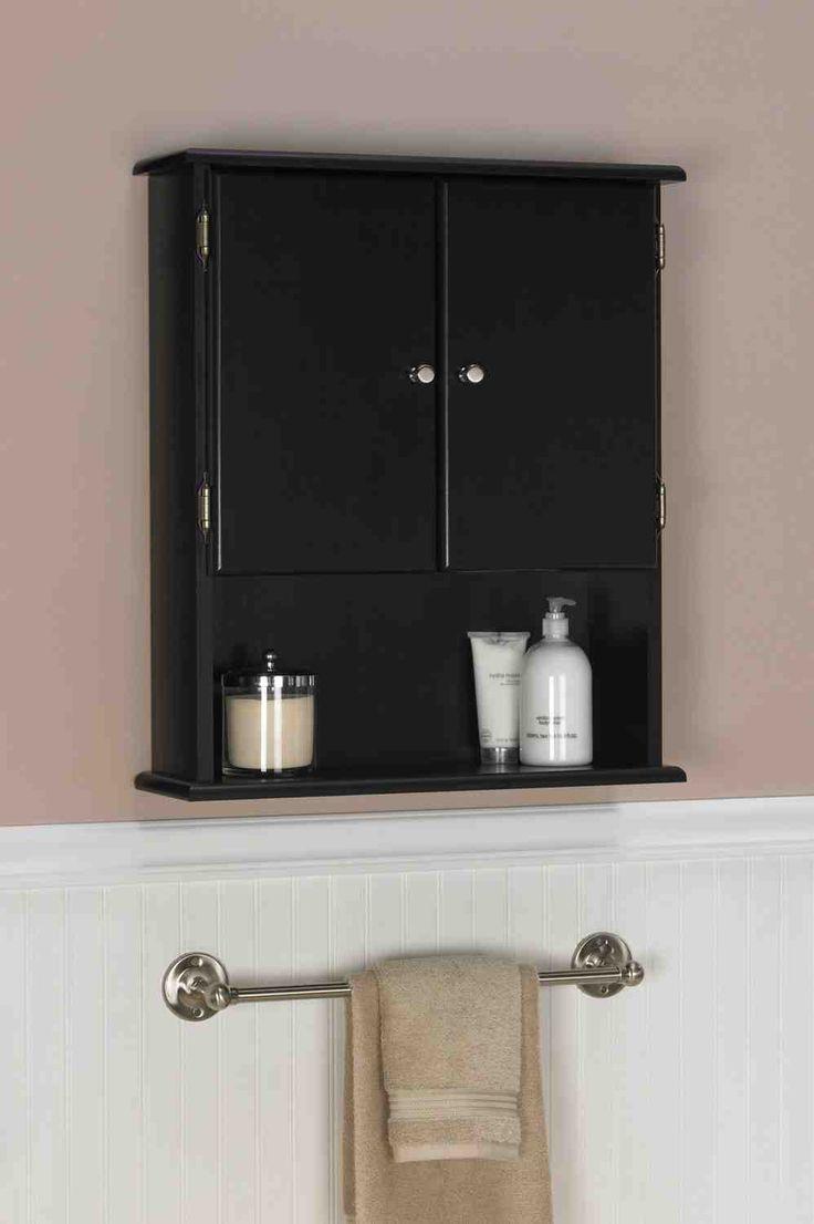 Bathroom wall cabinet ideas - Espresso Storage Cabinet Bathroom Wall