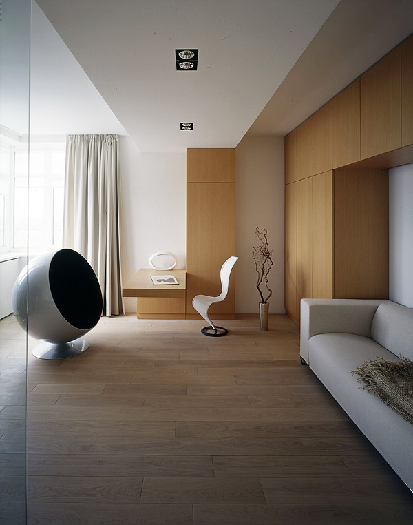 Elegant Minimalist Apartment // UB.Design |
