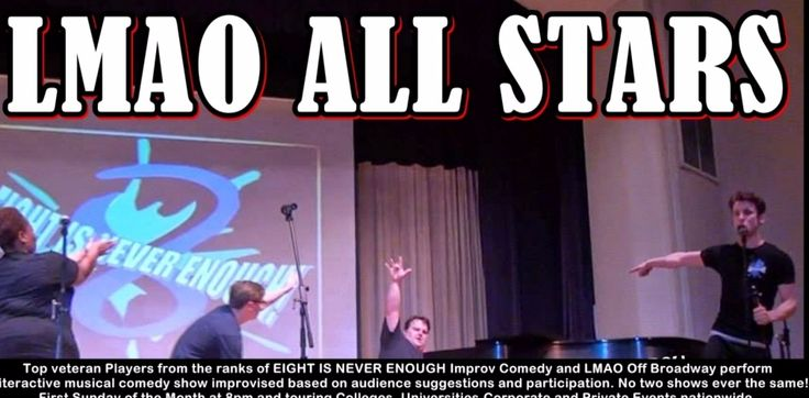 SUNDAY / TONIGHT 8pm #IMPROV at the #Broadway #Comedy #Club 318 West 53rd Street #NYC https://newyorkimprovtheater.com/2017/05/29/lmao-all-stars-june-4-2018-at-8pm-improv-comedy-nyc/
