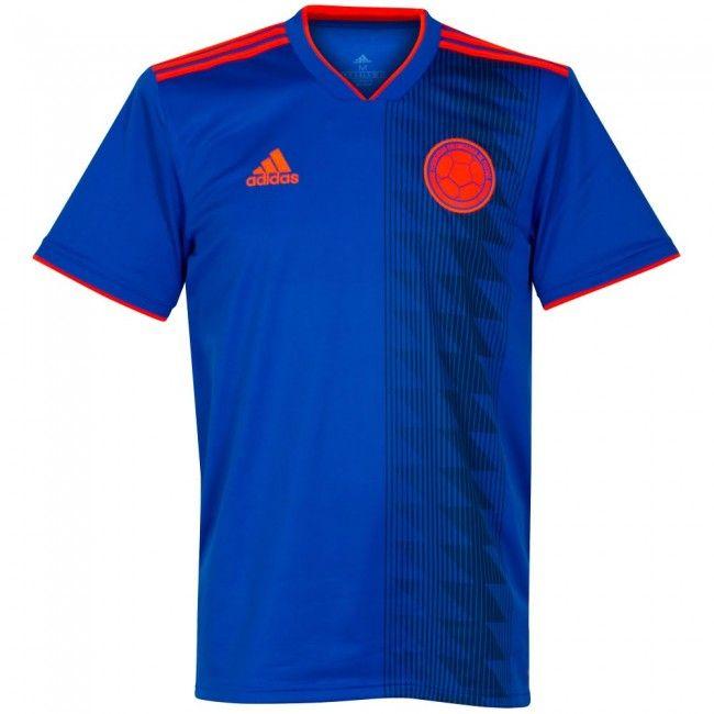 aa3f7b678ecdb Camiseta de Colombia 2018-2019 Visitante  Colombia  Kolumbien  Colombie   Колумбия  كولومبيا  russia2018  mundial2018  worldcup2018  mondial2018   rusia2018 ...