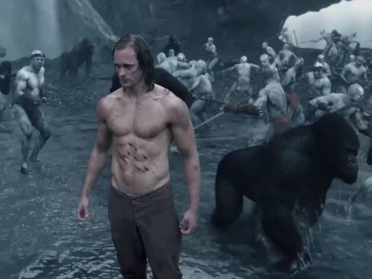 Watch: Alexander Skarsgård is Swingin' in Tarzan Trailer