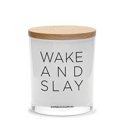 Wake and Slay - XL Candle from DAMSELFLY
