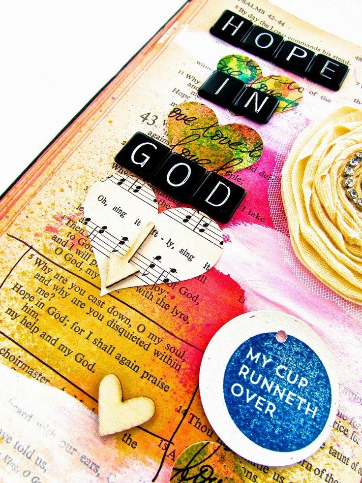 Bible Journaling : Psalm 43:5 | Bonita Rose