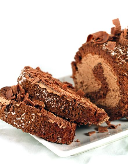 Chocolate cake roll...this is Yummy...