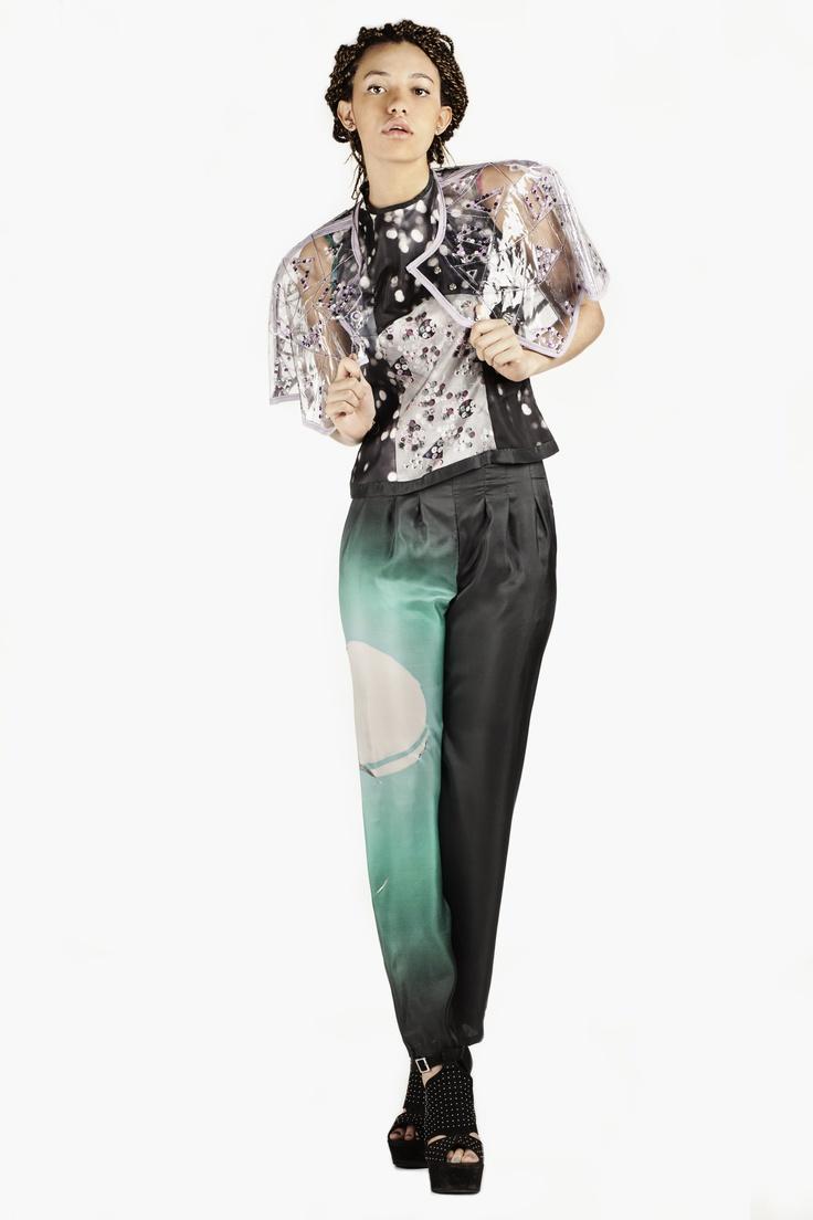 Fashion and Textile Design: Lydia Buckley [photographer Justyna Kloch retoucher Liliya Ivanova]