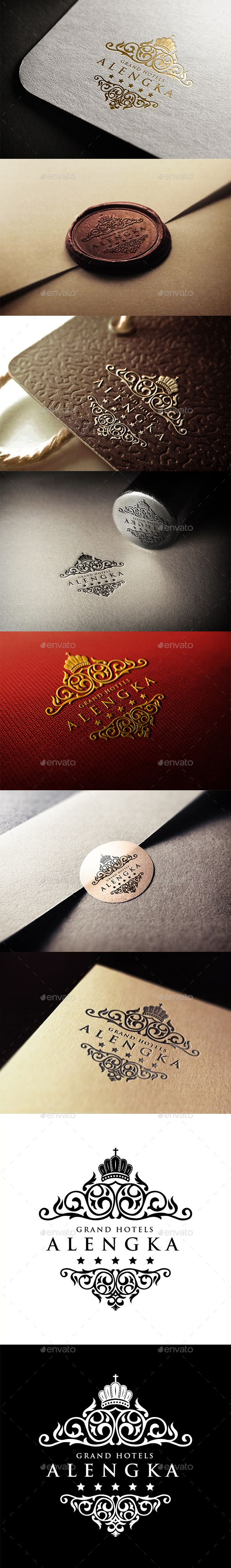 Alengka Hotels Logo Template #design #logotype Download: http://graphicriver.net/item/alengka-hotels-logo/11262560?ref=ksioks