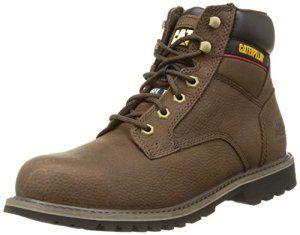Caterpillar Electric 6 Sb, Chaussures de sécurité homme – Marron (Brown), 46 EU