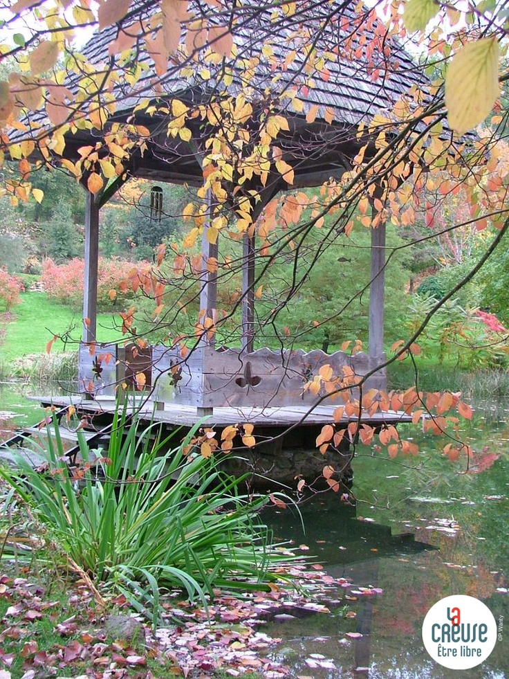 Creuse : Arboretum de la Sédelle
