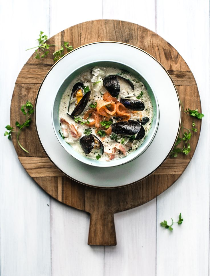 New blog post    Seafood Chowder hands down is the best of the winters soups!