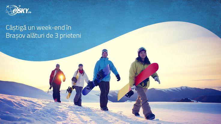 Abonează-te acum la newsletter-ul eSKY.ro și câștigă o vacanță de vis la munte, alături de 3 prieteni: http://bit.ly/1SJlfC1 #concurs #romania #brasov