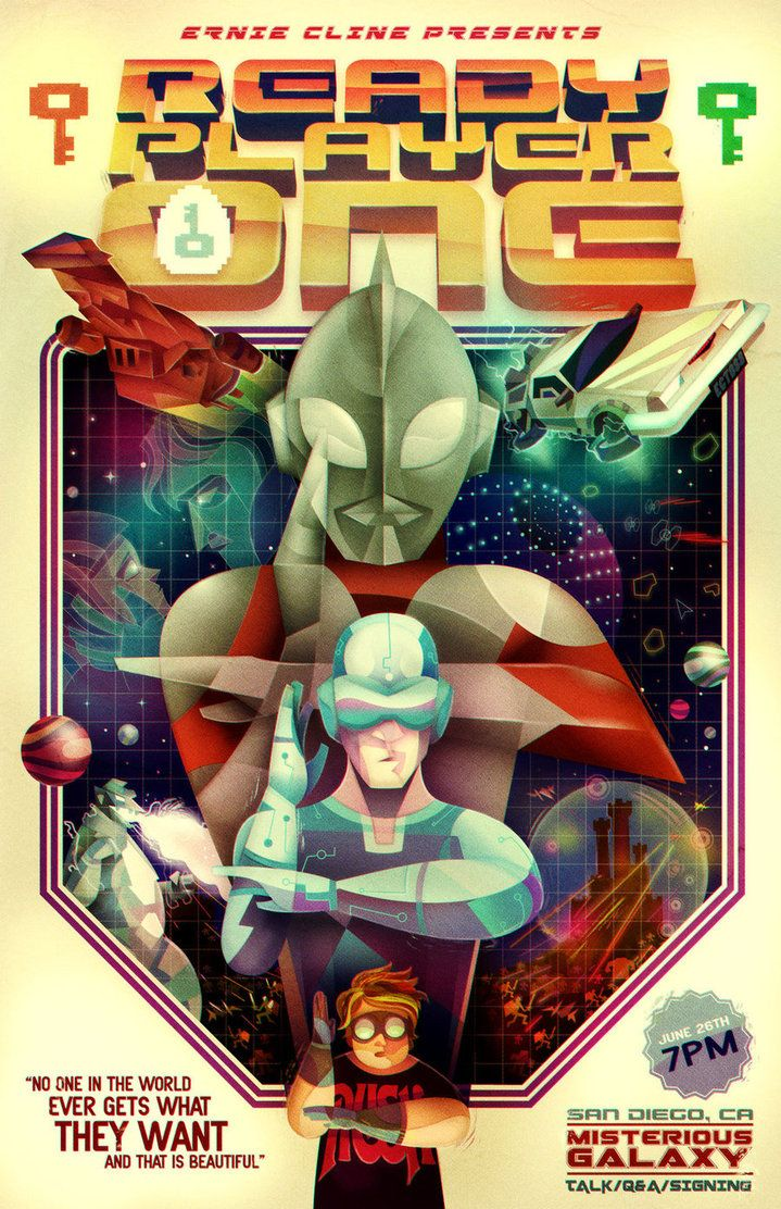 Ready Player One by ~lerms on deviantART