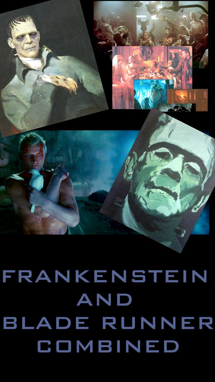 frankenstein blade runner comparative essay Despite a significant time difference between the novel, frankenstein or the modern prometheus, written by mary shelley in 1818, and the film, blade runner, directed by sir ridley scott in 1992, both composers use characters to warn future societies about the consequences of distorted values by emphasising a lack of key values.