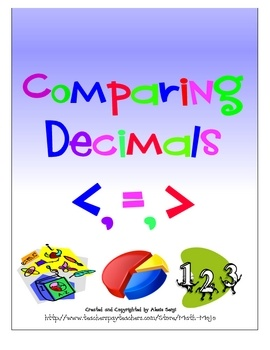 Comparing decimals has never been easier! This 20 page file contains 1 activity where students shade in decimal models to develop an understandin...