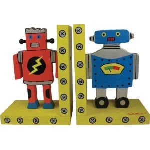 Robot Bookends