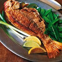 Crisp Whole Red Snapper with Asian Citrus Sauce   – Fish Recipes – #Asian #Citru… – Easy Fish Recipes