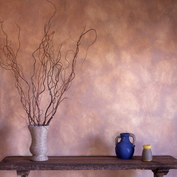 einfach nachgemacht wandgestaltung mit wischtechnik wand pinterest rosa wohnzimmer. Black Bedroom Furniture Sets. Home Design Ideas
