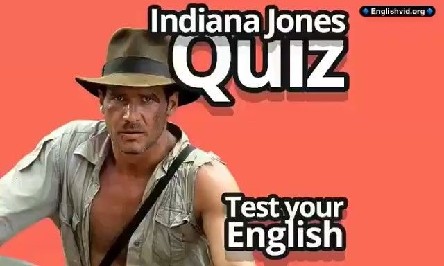 "English Quiz is from a great movie ""Indiana Jones and the Last Crusade"" with Harrison Ford and Sean Connery. Listen well and write the correct answer in the comments.  Remember to have fun while learning English! . . . .  #indianajones #harrisonford #seanconnery #stevenspielberg #quiz #english #englishvid #learnenglish #studyenglish #englishlanguage #englishteacher #ingles #ingilizce #anglais #Inglés #английский #listening #vocabulary"