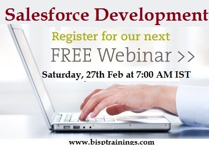 Attend Free Webinar on Salesforce CRM. REGISTER HERE:  https://attendee.gototraining.com/r/3206557809897569537