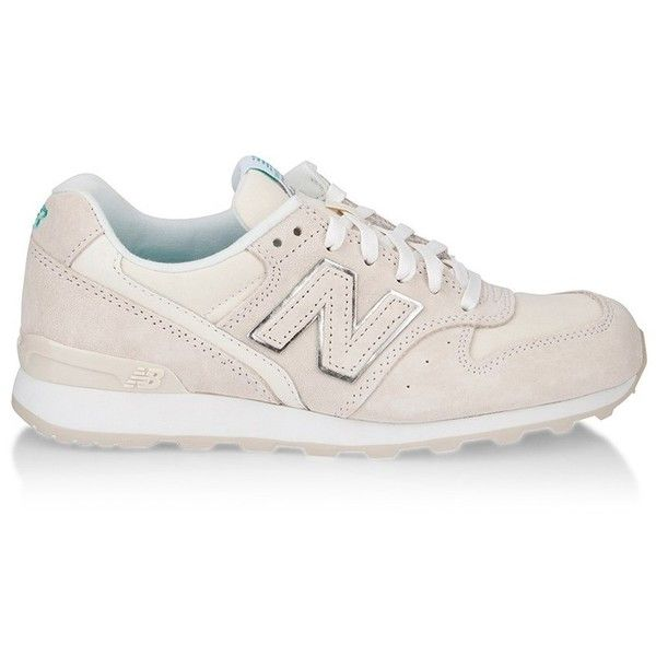 NEW BALANCE Sneakers (€31) ❤ liked on Polyvore featuring shoes, sneakers, new balance shoes, new balance trainers, new balance footwear, mesh shoes and new balance sneakers