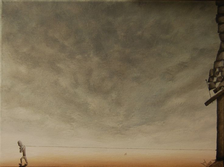 paweł widera /nieustanna obrona przed wolnością/ original acrylic paintings
