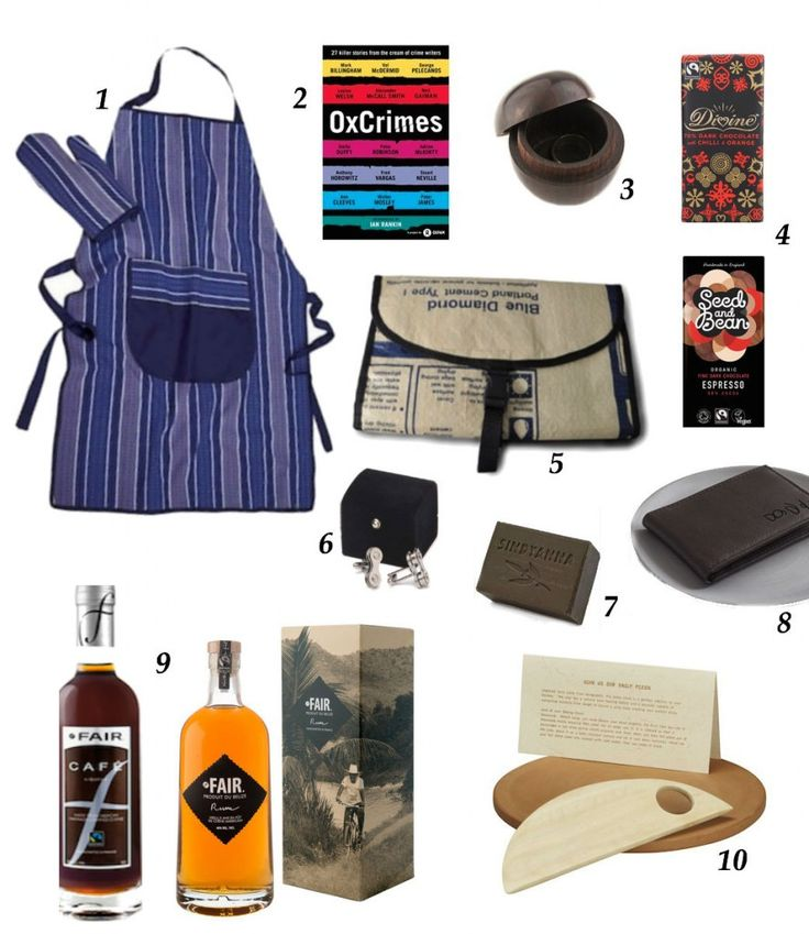 #fairtrade gift ideas for the wonderful men in your life!