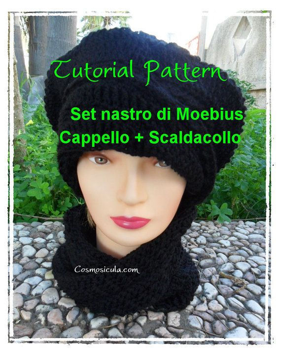 Set Moebius. Tutorial pattern in Italiano per fare di Cosmosicula