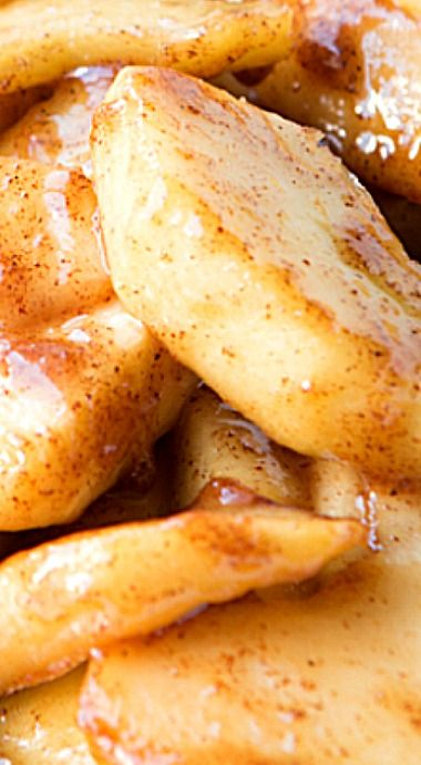 Boston Market Cinnamon Apples Copycat ❊