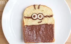 Sandwich Minion, una merienda divertida para niños