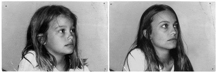 Before & After - pairs of photographs showing the passage of time by Irina Werning.