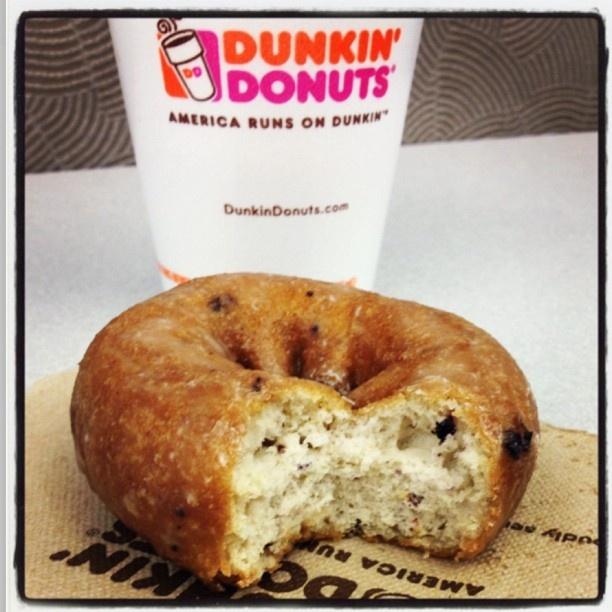 Blueberry Cake Donut Dunkin Nutrition