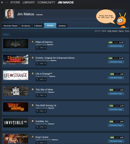Must. Resist. Steam. Sale. #videogaming   #Ineedmoretime  -  Jim Makos - Google+