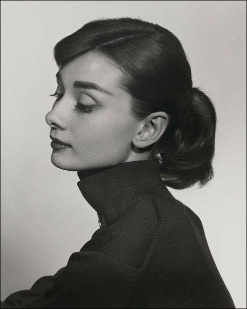 Photo Portraitist Yousuf Karsh, Audrey Hepburn portrait