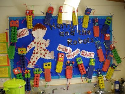 Harry and the Robots Display, classroom display, class display, Story, robot, Harry,Harry and Robots, book, Early Years (EYFS), KS1 & KS2 Primary Resources
