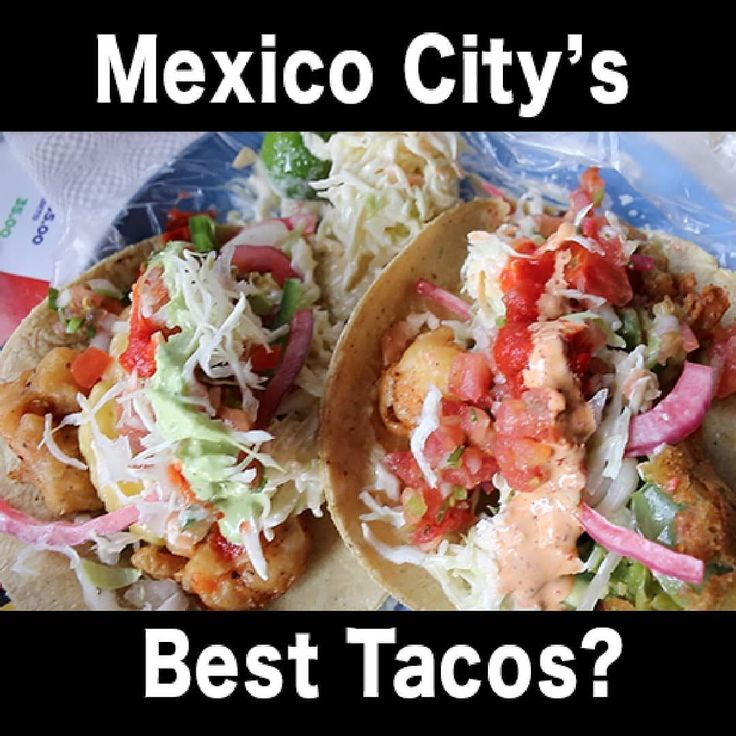 New video shares the best tacos I've had in Mexico City. Y'all ready for this one!? LINK ON PROFILE