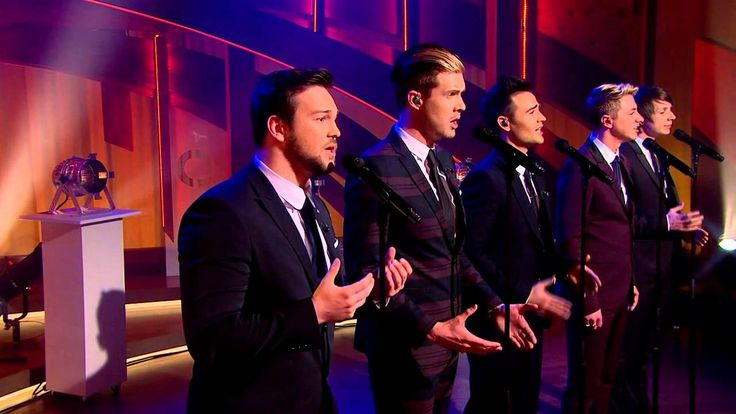 Watch Collabro perform 'I dreamed a dream' live on QVC UK--I think I am in love with this group..