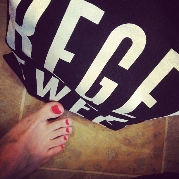 My pedicure from the lovely people at UGG Australia in London today.  Part of #RegentTweet 2012.